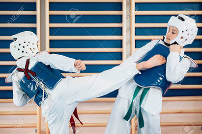Tae Kwon Do Kids Sparring