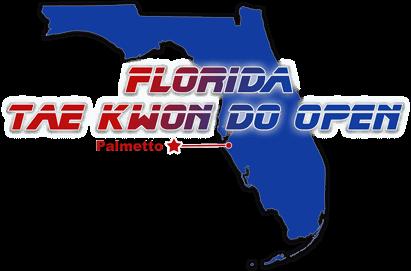 2019 Florida Tae Kwon Do Open Tournament Logo