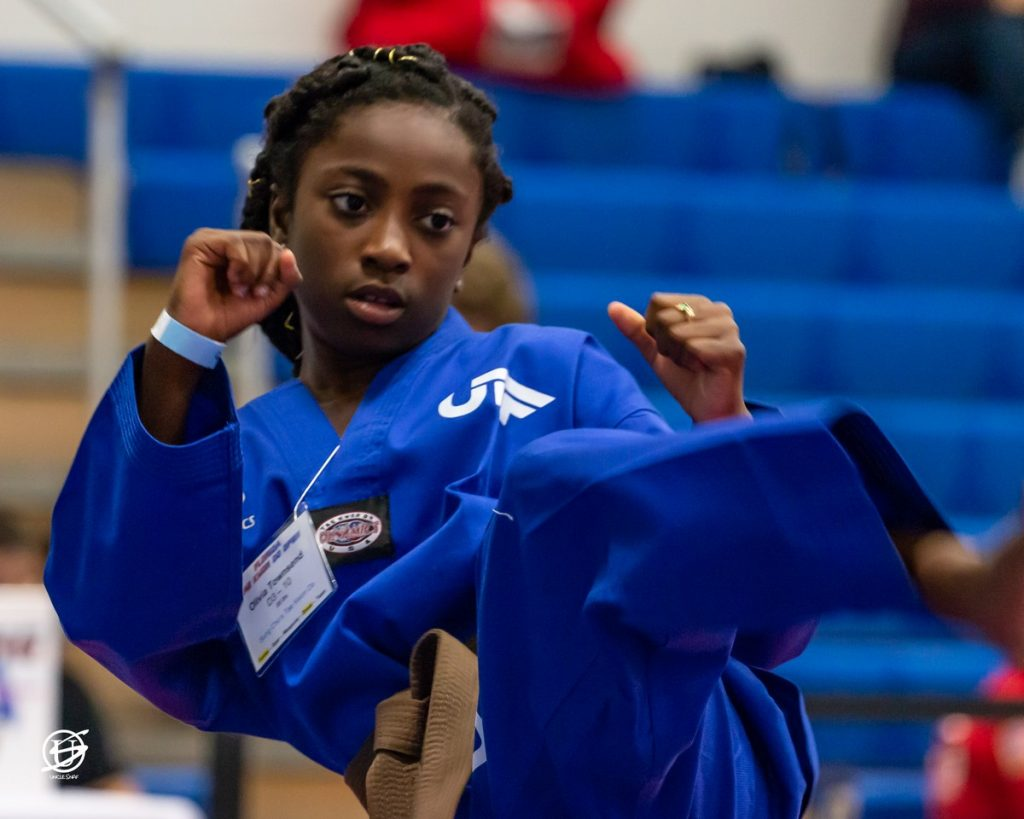 Photo of Competitor Warming Up