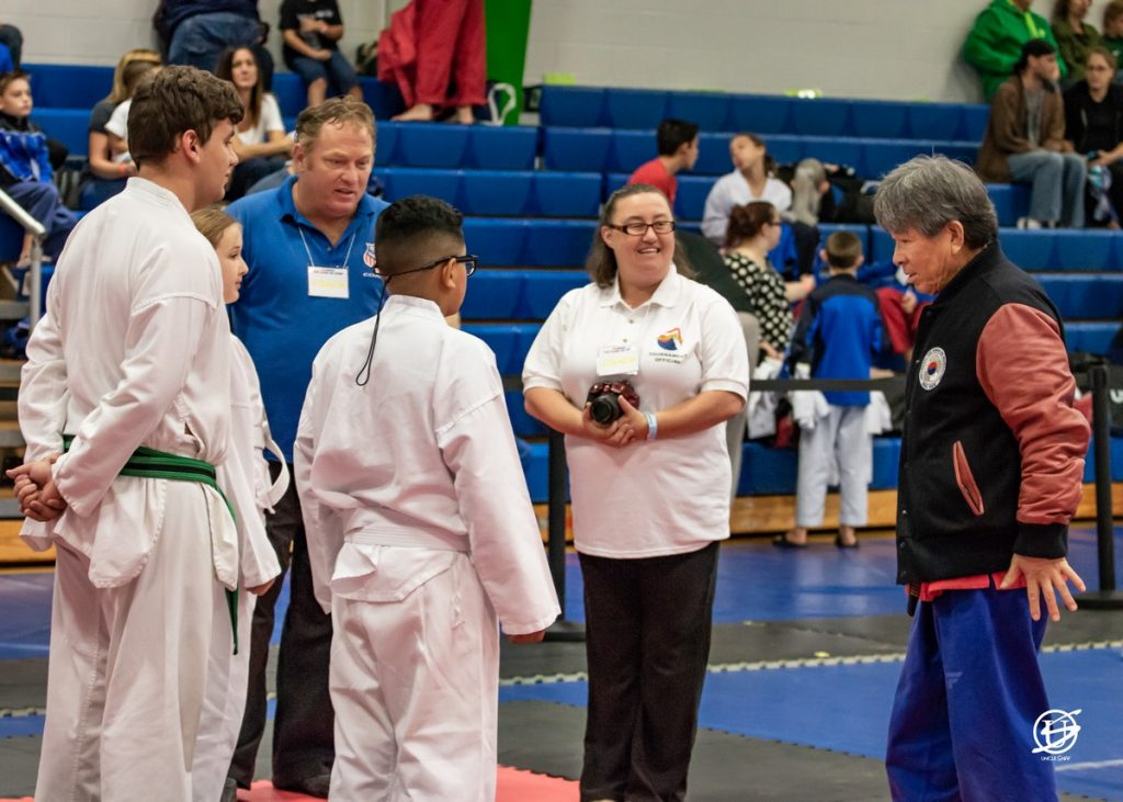 Competitors before the tournament